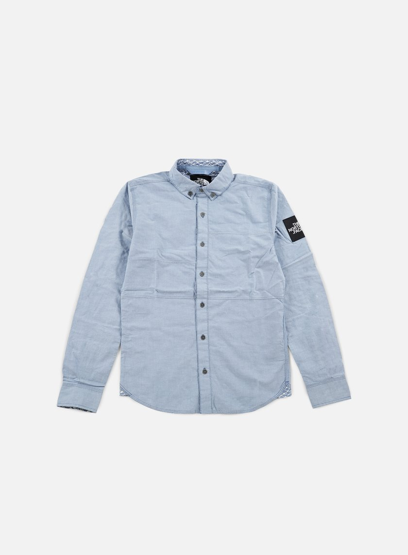 The North Face - Denali LS Shirt, Moonlight Blue