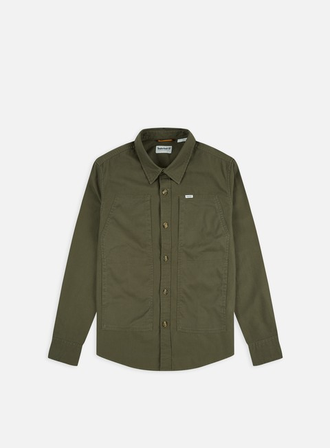 Long Sleeve Shirts Timberland Cargo LS Overshirt