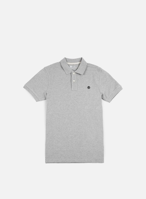 camicie timberland millers river polo shirt medium grey heather