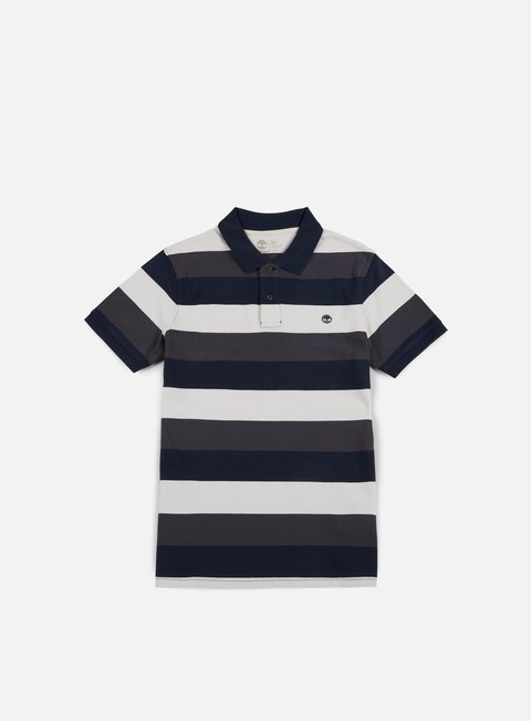 camicie timberland millers river stripe polo shirt dark sapphire