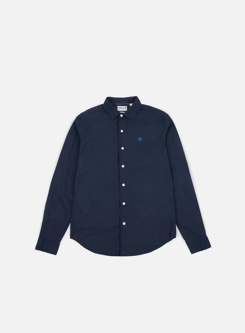 Long Sleeve Shirts Timberland Suncook River Poplin Shirt