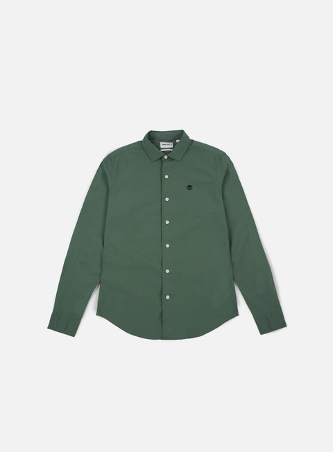 camicie timberland suncook river poplin shirt duck green