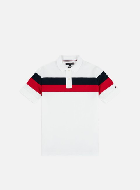 Outlet e Saldi Polo Tommy Hilfiger Chest Stripe Regular Polo Shirt