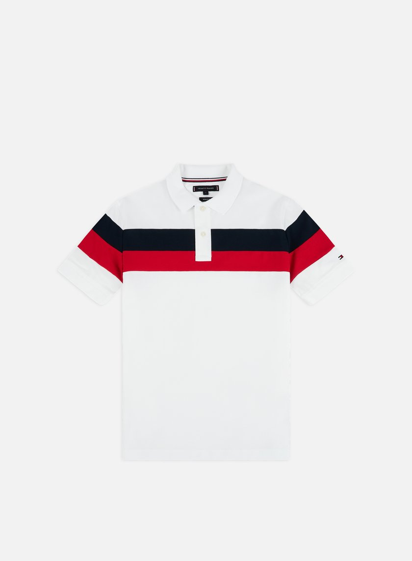 Tommy Hilfiger Chest Stripe Regular Polo Shirt