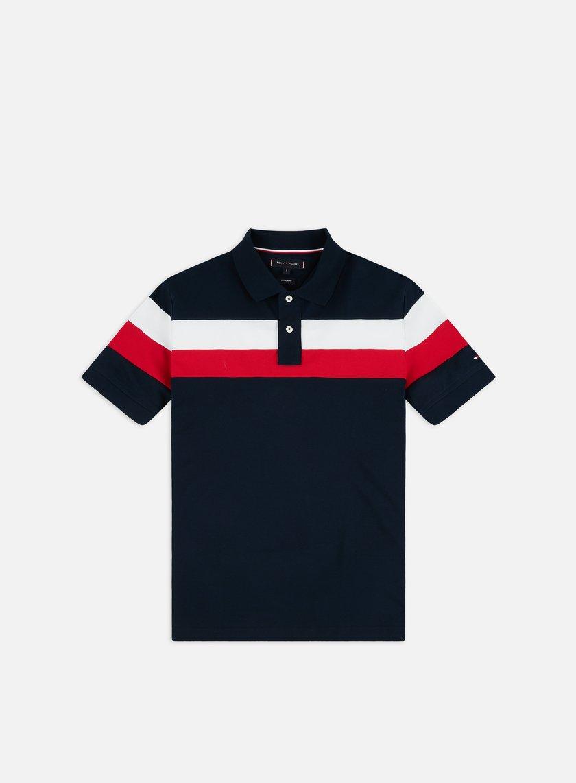 Tommy Hilfiger Chest Stripe Regular Polo Shirt