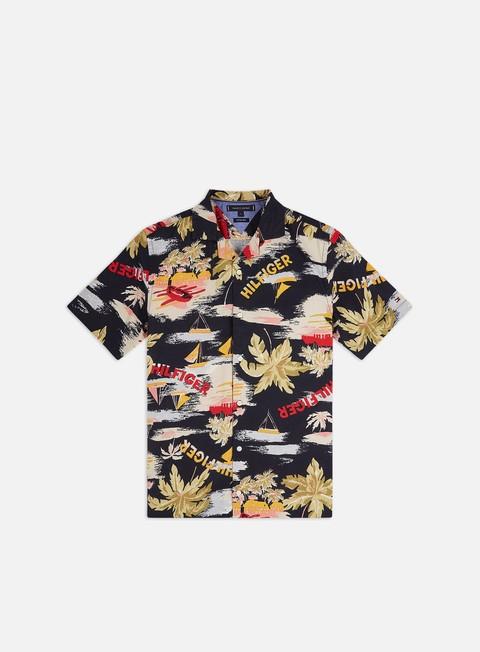 Short Sleeve Shirts Tommy Hilfiger Hawaiian Print SS Shirt