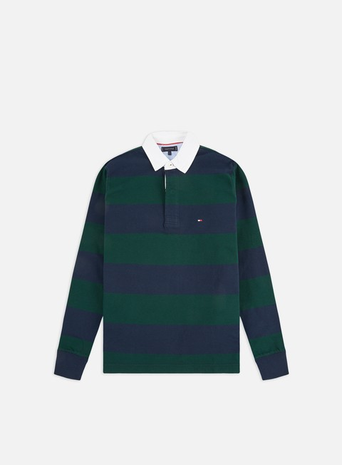 Outlet e Saldi Polo Tommy Hilfiger Iconic Block Stripe LS Polo Shirt