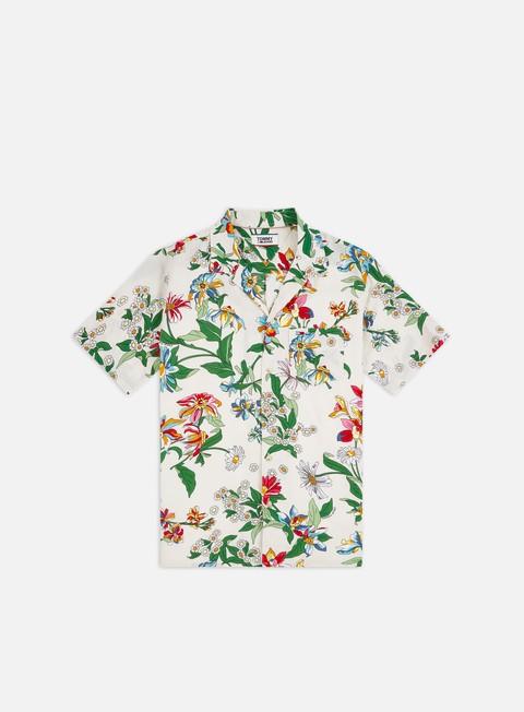 Outlet e Saldi Camicie a Manica Corta Tommy Hilfiger TJ Allover Print Camp SS Shirt
