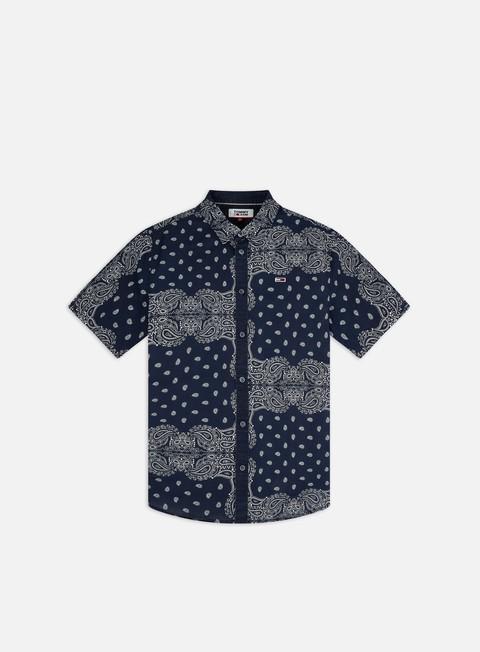 Camicie a Manica Corta Tommy Hilfiger TJ Bandana Print SS Shirt