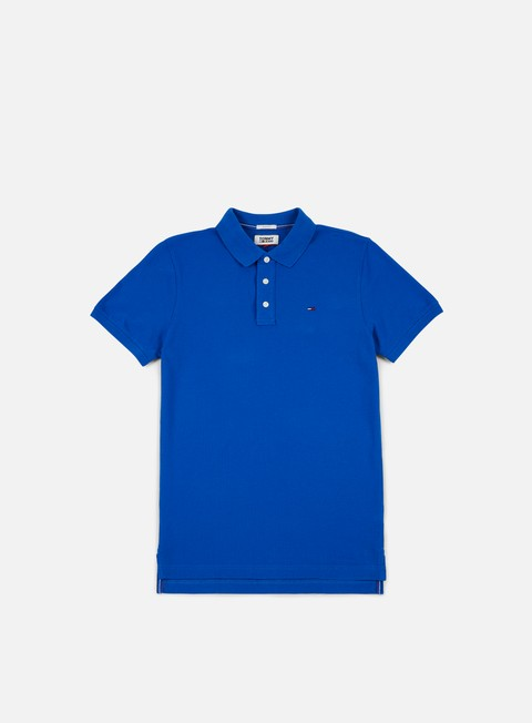 camicie tommy hilfiger tj basic polo nautical blue