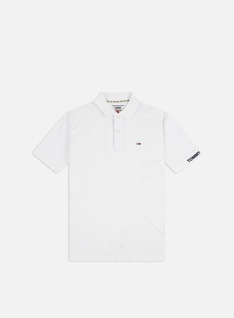 Tommy Hilfiger TJ Branded Rib Polo Shirt