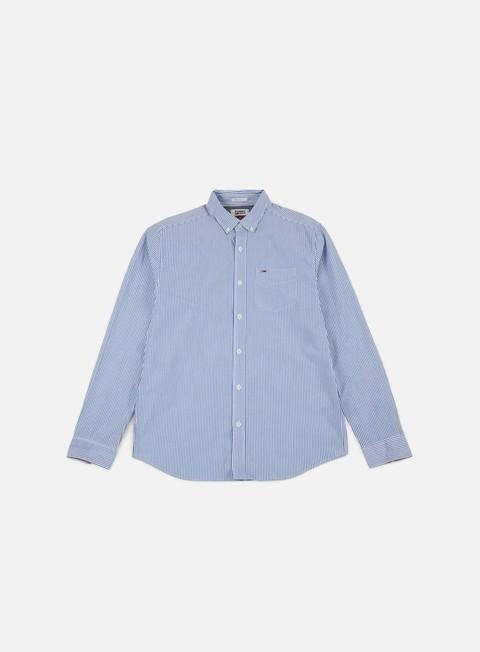 Camicie a Manica Lunga Tommy Hilfiger TJ Classic Stripe Shirt