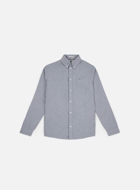 camicie tommy hilfiger tj classics ls shirt black iris