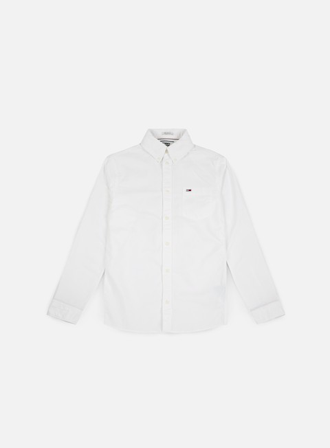 camicie tommy hilfiger tj classics ls shirt classic white