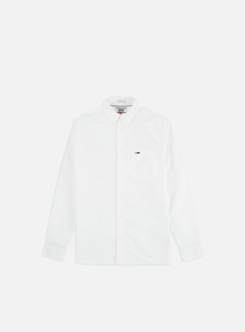 Sale Outlet Long Sleeve Shirts Tommy Hilfiger TJ Classics Oxford LS Shirt