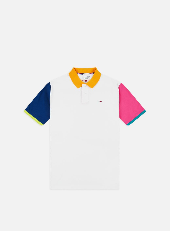 Tommy Hilfiger TJ Color Block Polo Shirt
