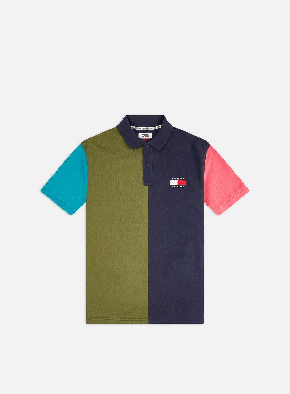 Tommy Hilfiger TJ Colorblock Badge Polo Shirt