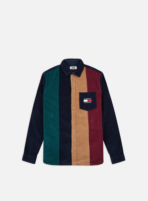 Long Sleeve Shirts Tommy Hilfiger TJ Colorblock Cord LS Shirt