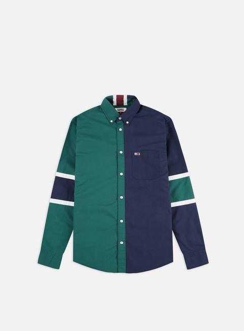 Outlet e Saldi Camicie a Manica Lunga Tommy Hilfiger TJ Colorblocking LS Shirt