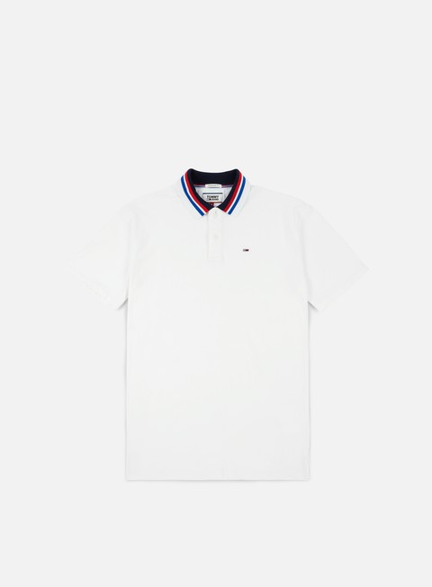 camicie tommy hilfiger tj contemporary polo classic white