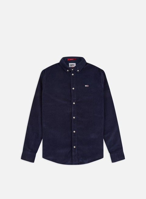 Sale Outlet Long Sleeve Shirts Tommy Hilfiger TJ Corduroy LS Shirt