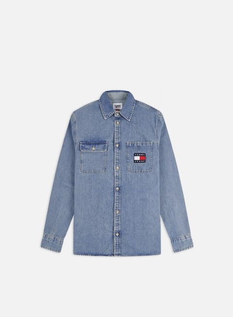 Camicie a Manica Lunga Tommy Hilfiger TJ Denim Badge LS Shirt