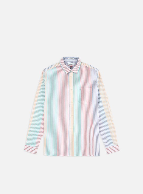 Long Sleeve Shirts Tommy Hilfiger TJ Dobby Stripe LS Shirt