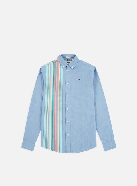 Long Sleeve Shirts Tommy Hilfiger TJ Engineered Stripe LS Shirt