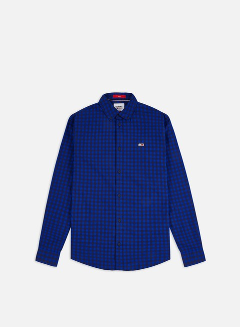 Long Sleeve Shirts Tommy Hilfiger TJ Essential Gingham LS Shirt