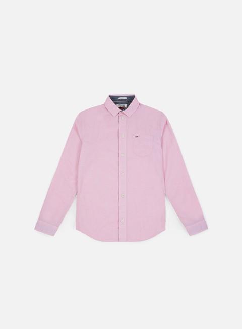 camicie tommy hilfiger tj essential solid shirt bodacious