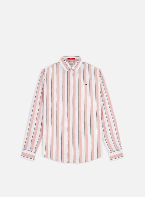 Outlet e Saldi Camicie a Manica Lunga Tommy Hilfiger TJ Essential Striped LS Shirts