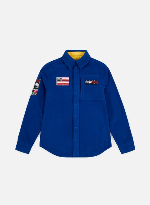Sale Outlet Long Sleeve Shirts Tommy Hilfiger TJ Expedition Fleece Shirt
