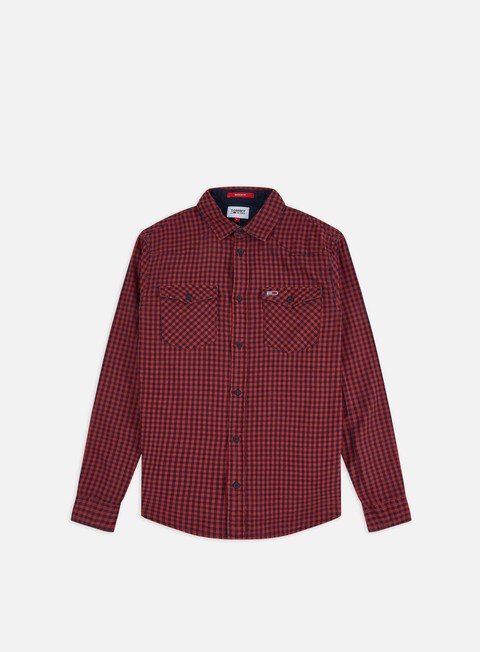 Long Sleeve Shirts Tommy Hilfiger TJ Gingham Western LS Shirt