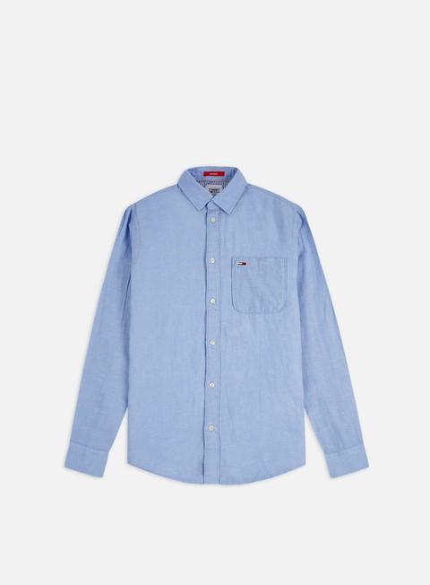 Tommy Hilfiger TJ Linen Blend LS Shirt