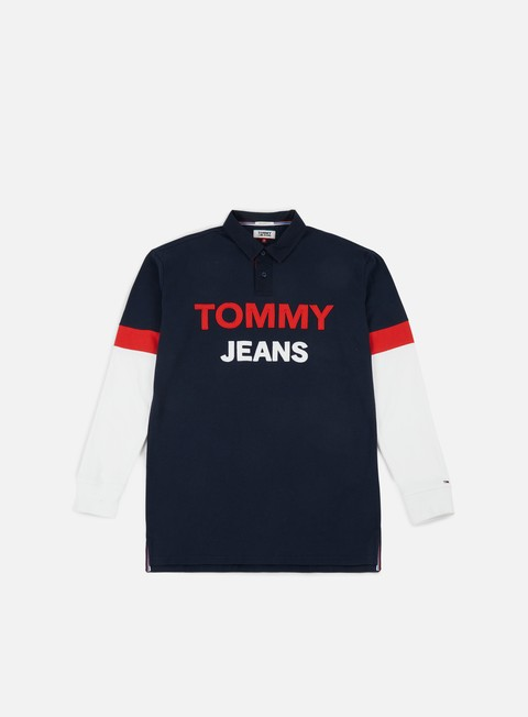 Outlet e Saldi Polo Tommy Hilfiger TJ Logo Rugby Shirt