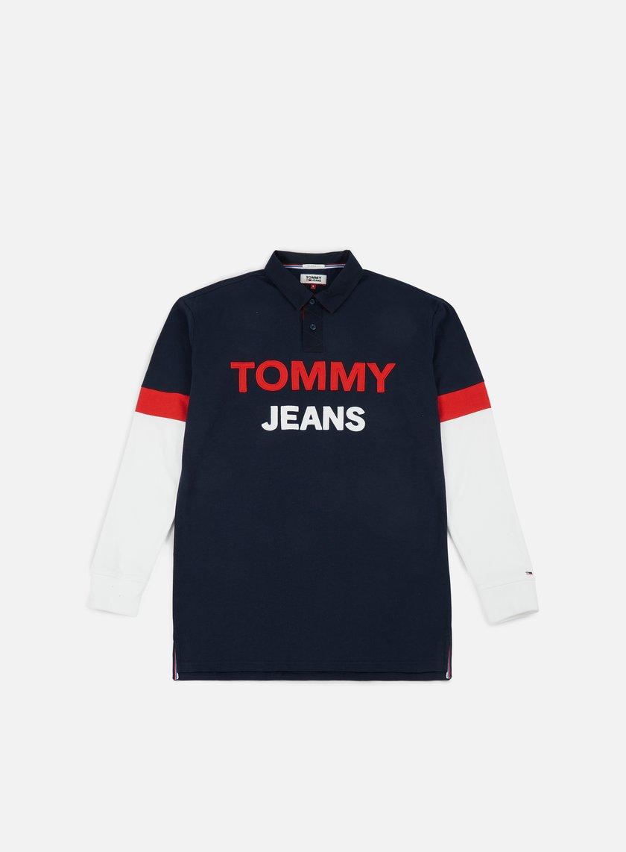 54fde89f04a TOMMY HILFIGER TJ Logo Rugby Shirt € 47 Polo   Graffitishop