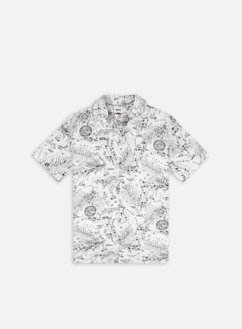 Short Sleeve Shirts Tommy Hilfiger TJ Miami Print Camp SS Shirt