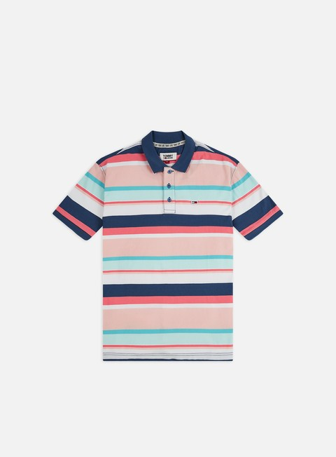 Tommy Hilfiger TJ Multi Stripe Polo Shirt