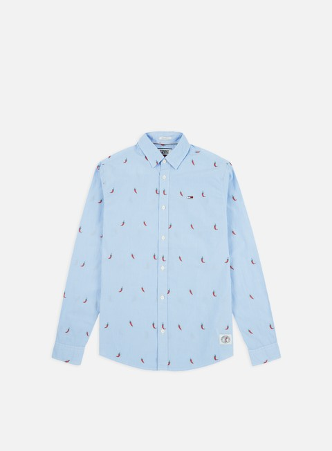 Long Sleeve Shirts Tommy Hilfiger TJ Novelty Dobby LS Shirt