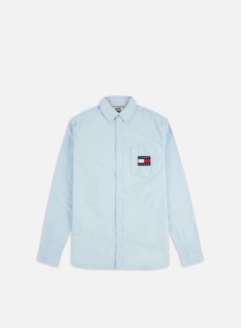 Outlet e Saldi Camicie a Manica Lunga Tommy Hilfiger TJ Oxford Badge Shirt