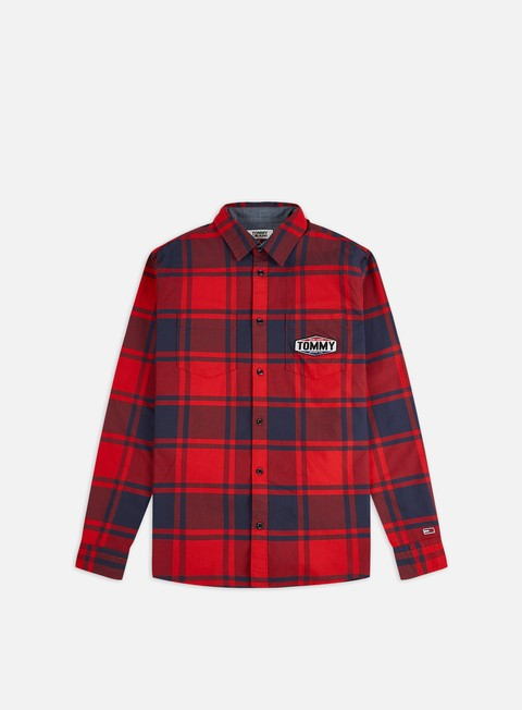 Outlet e Saldi Camicie a Manica Lunga Tommy Hilfiger TJ Oxford Check LS Shirt