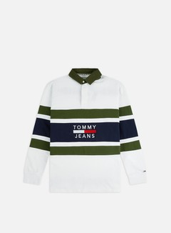 Tommy Hilfiger TJ Panel Rugby Polo LS Shirt