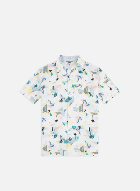 Short Sleeve Shirts Tommy Hilfiger TJ Printed SS Shirt