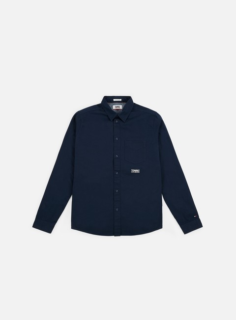 Long Sleeve Shirts Tommy Hilfiger TJ Solid Twill Shirt