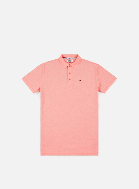 camicie tommy hilfiger tj summer oxford polo shirt rose of sharon