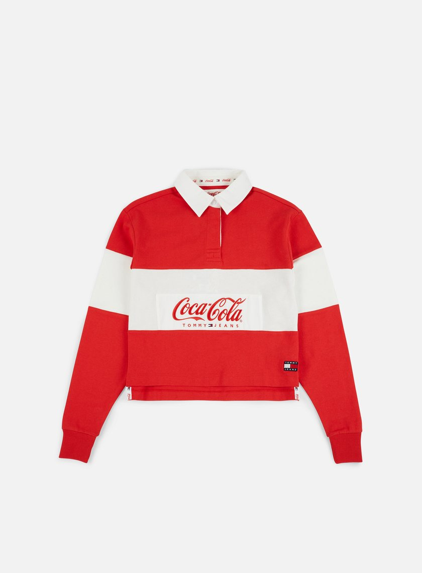 Tommy Hilfiger WMNS TJ Tommy x Coca Cola Rugby Polo LS Shirt