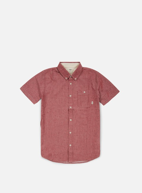 Sale Outlet Short Sleeve Shirts Vans Bayview SS Shirt