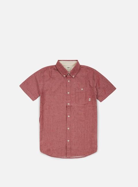 camicie vans bayview ss shirt rhubarb