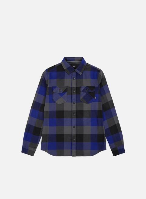Outlet e Saldi Camicie a Manica Lunga Vans Box Flannel LS Shirt
