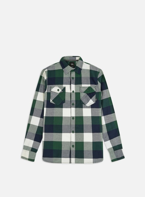 Long Sleeve Shirts Vans Box Flannel LS Shirt